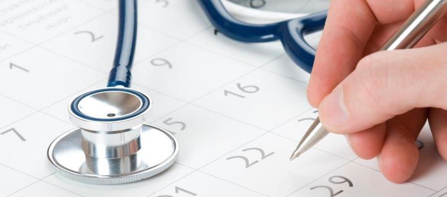 Расписание приема врачей